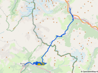 Kleiner Sankt Bernhard (Colle del Piccolo San Bernardo / Col du Petit Saint Bernard)
